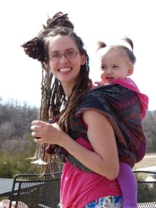 c09d3fa032e Wearing my then 18 month old in the rucksack carry with a Didymos orient